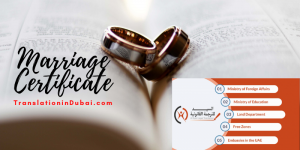 Marriage Certificate Translation Services In Dubai