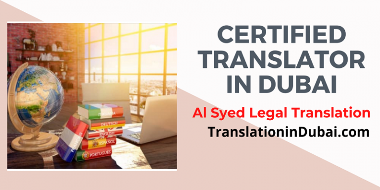 Everything about translation in Dubai